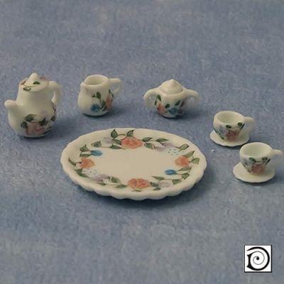 Small flower Tea Set