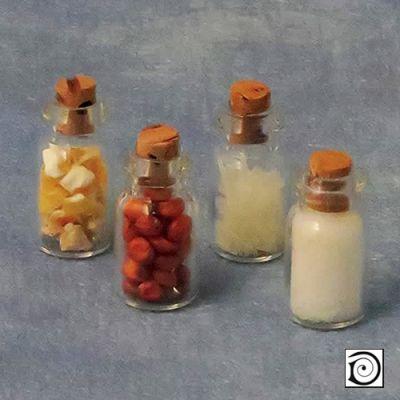Spice bottles, pk4