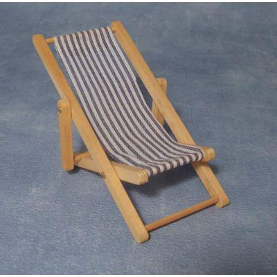 Deck chair Blue