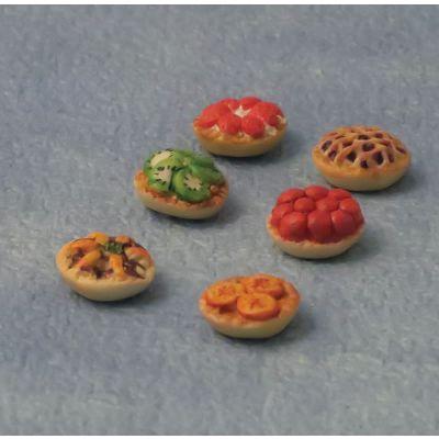 Fruit tarts, pack 6