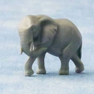 Large toy/ornament  elephant, pk 2