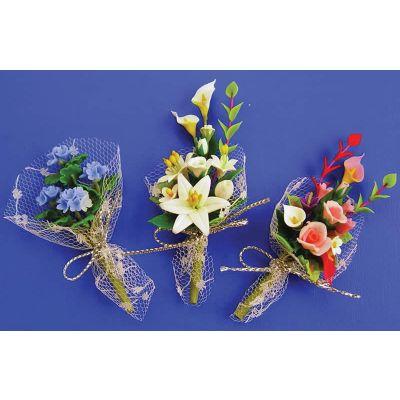 Floral Bouquet 6 asst. (price each)