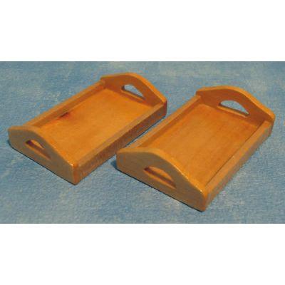 Wood Tray Pine pk2