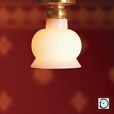Short Ceilinglight Rnd Shade