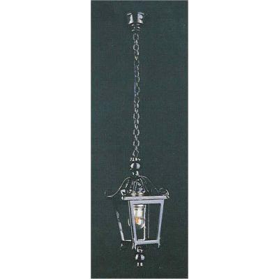 Black Lantern coach lamp