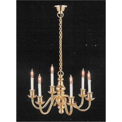 Six candle delux Chandelier