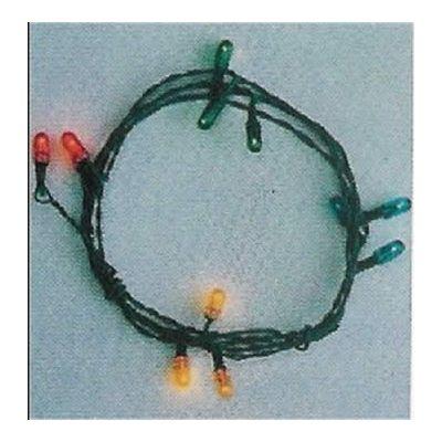 String of 12 Christmas lights