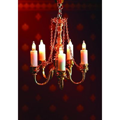 5 candle delux chandelier