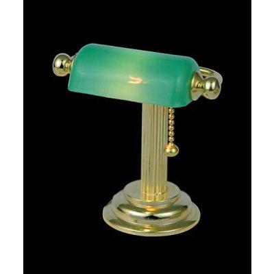 Green Shade Desk Light