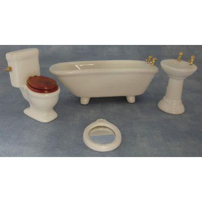 Bathroom set, ceramic.