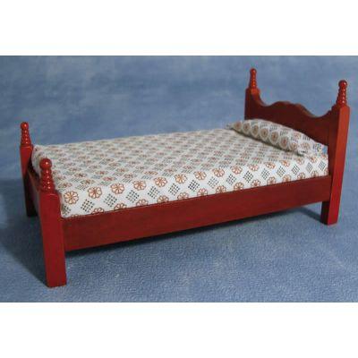 Single Bed   Mahog