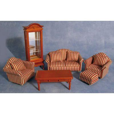 Stripe Sofa Livingroom