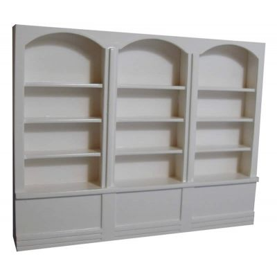 Large Shop Shelves  White
