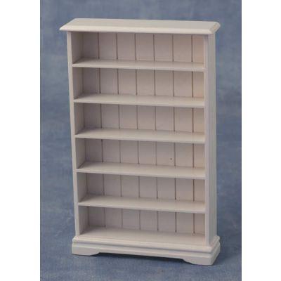 6 Shelf Bookcase White