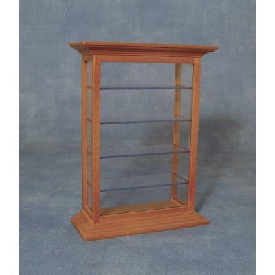 Shelf Display Cabinet Pine