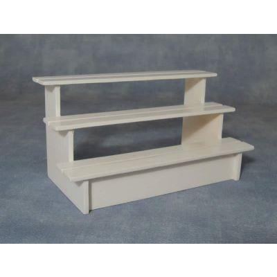 Stall Shelves White
