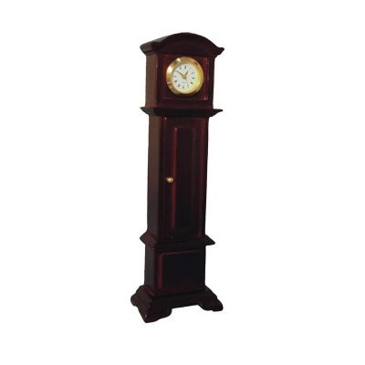 Working Grandfather Clock Mahog