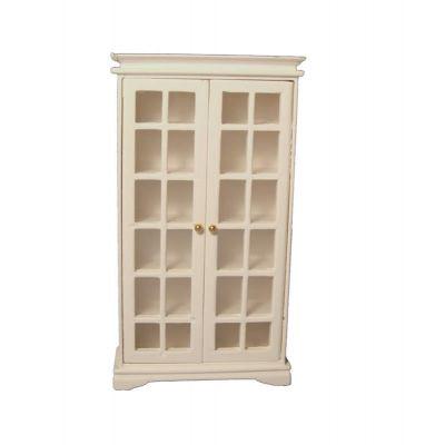 Book Cabinet White