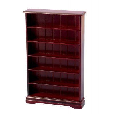 6 Shelf Bookcase Mahog