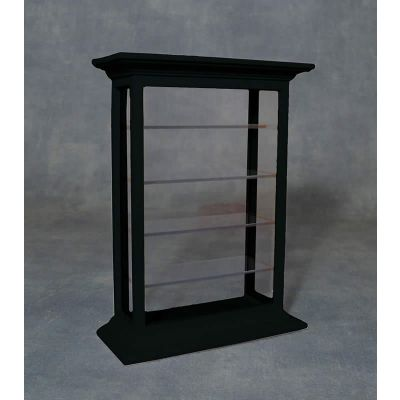 Shelf Display Cabinet Black