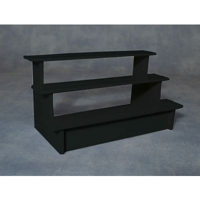 Stall Shelves Black