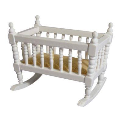 Small cot White