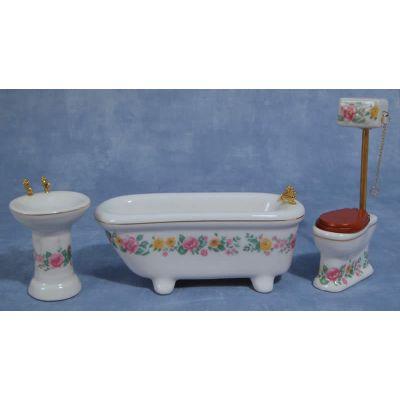 High Level Ceram Bath
