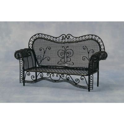 Black Garden Sofa