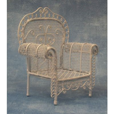 White Garden Armchair
