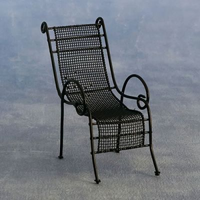 Black Garden Chair