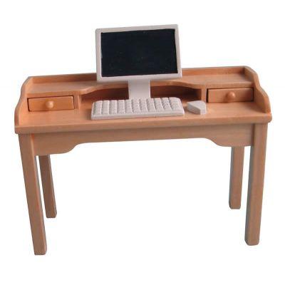Writing Desk & Computer