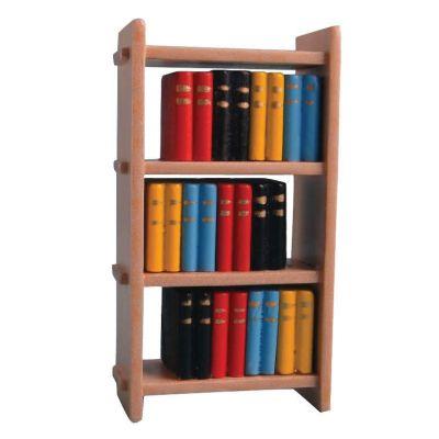 Small Bookcase & Books