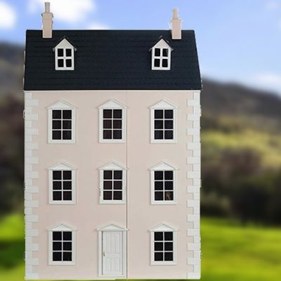 The Dartmouth Dolls House, painted.