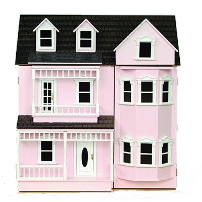 The Exmouth Dolls House, painted pink