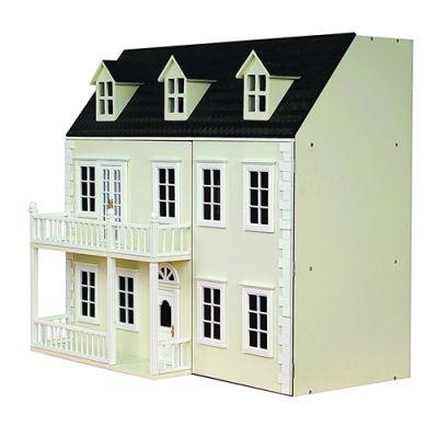 Glenside Grange Dolls House, painted.