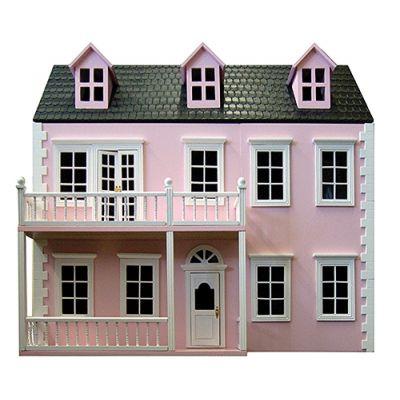 Glenside Grange Dolls House, Pink (BUILT...COLLECTION ONLY)