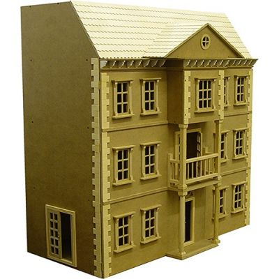 Mayfair Dolls House, unpainted.