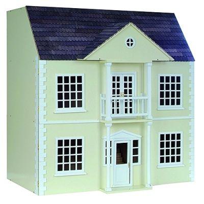 Newnam Manor Dolls House, painted cream