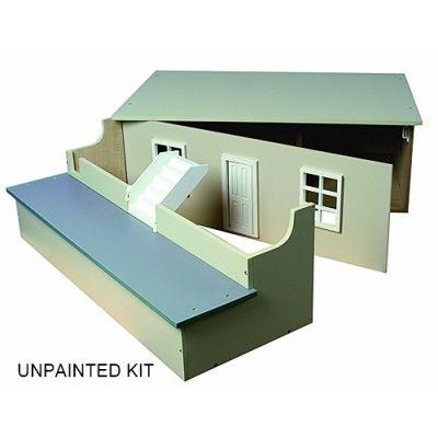 Small basement, unpainted.