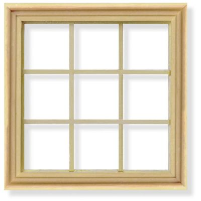 Georgian 9 Pane Window/Frames