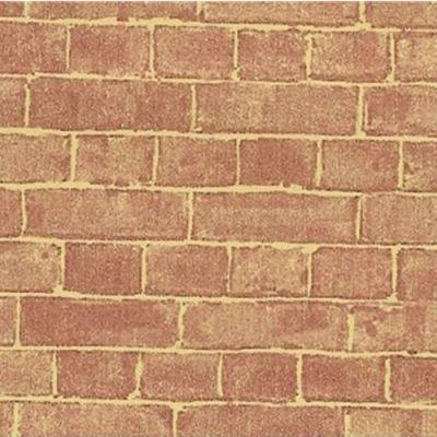 "Red Weathered Brick 22""x30"""