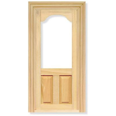 Glass Top Panel Door