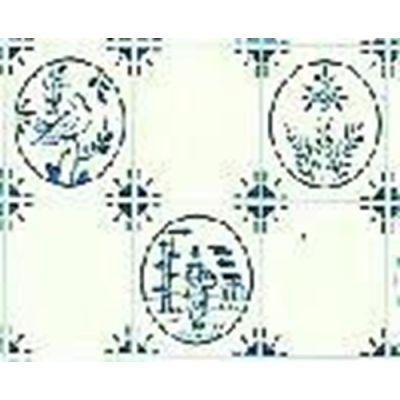 A3 Dutch Blue Tile Paper
