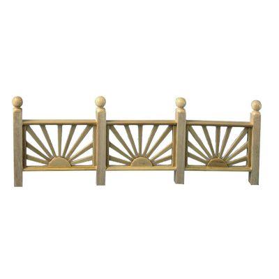 Rising Sun Fence