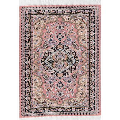 Turkish Rug Pink 31cm x 20cm