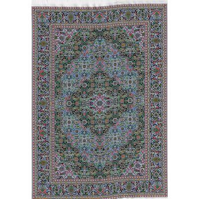 Carpet Blue/Green 31cm x 20cm