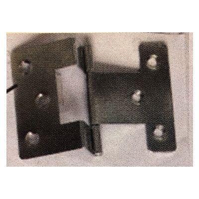 10mm shoulder, Cranked Hinges Pk 2 and Screws