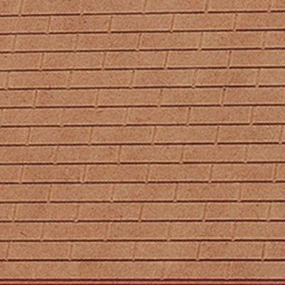 "Brick sheets 9""x 5"" MDF"
