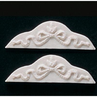 Small ribbon scroll . Pk2