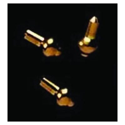 3mm Brass Knob pk4